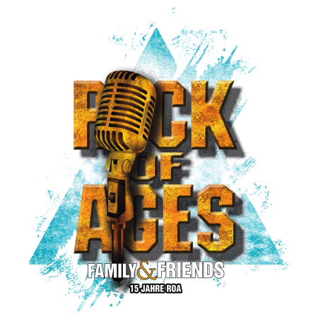 ROCK OF AGES Festivallogo transparenter Hintergrund